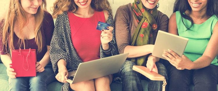 Dank VPN macht das Online-Shopping wieder richtig Spaß.
